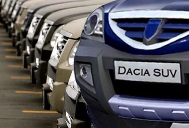 Vanzarile Dacia au crescut cu 11,7% anul trecut