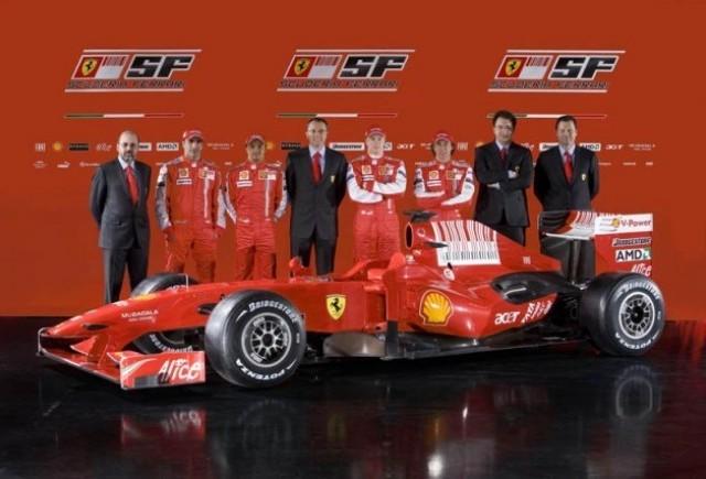 Ferrari isi lanseaza masina pentru noul sezon!