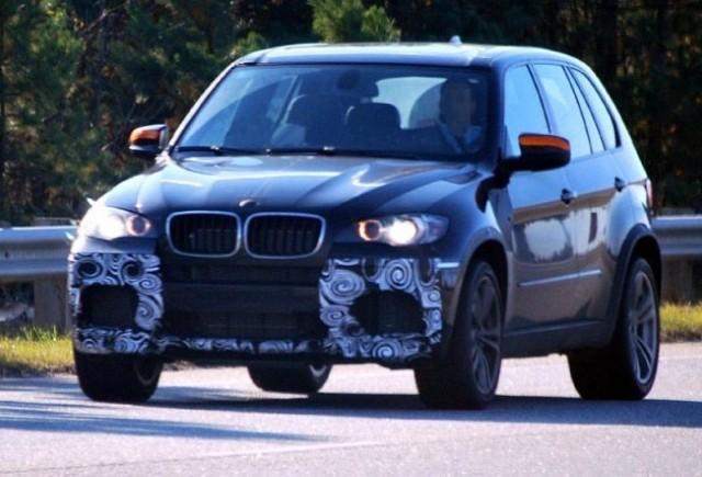 BMW X5 M vazut din nou!
