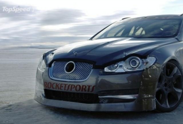 Jaguar XF-R - cel mai rapid Jaguar al tuturor timpurilor