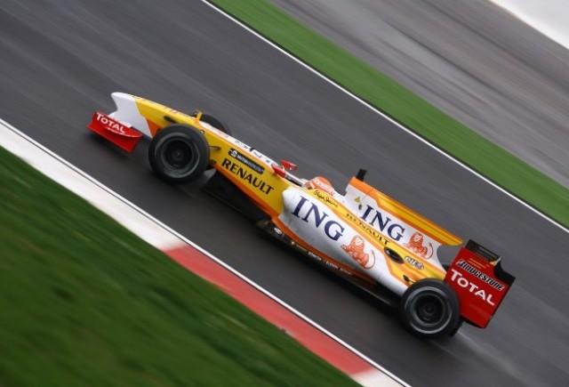 Monopostul ING Renault F1 Team R29