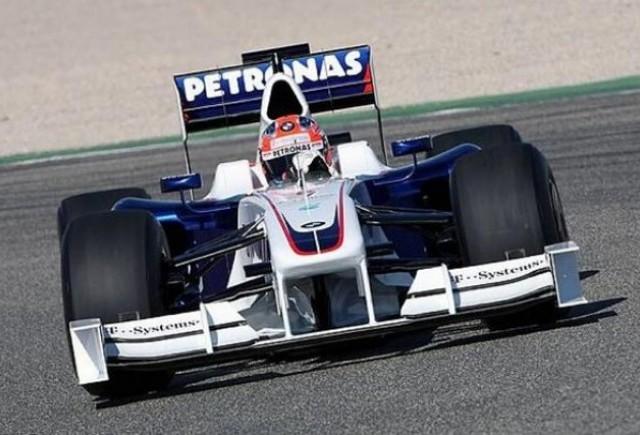 Monopostul BMW, F1.09, lansat la Valencia