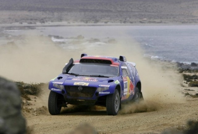 Nemtii castiga la Dakar!