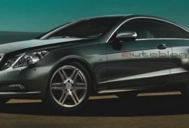 Mercedes E-Class Coupe - primele imagini oficiale