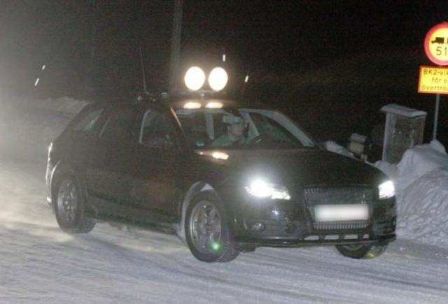 Audi A4 Allroad in Suedia la teste!