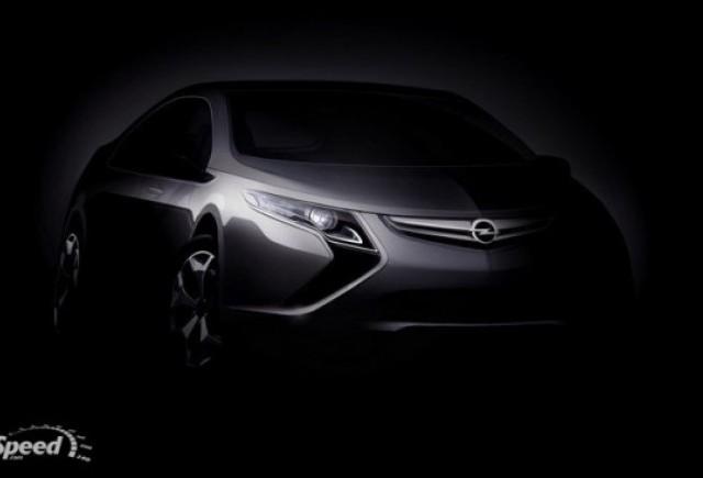 Opel Ampera Electric va debuta la Geneva