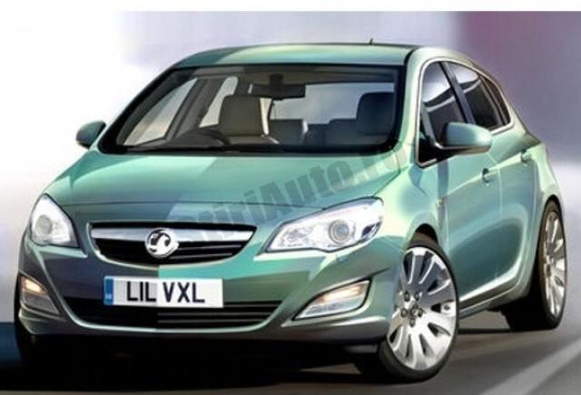Opel Astra IV ajunge pe piata in 12 luni