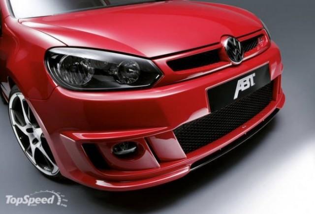 Volkswagen Golf VI tunat de ABT Sportsline