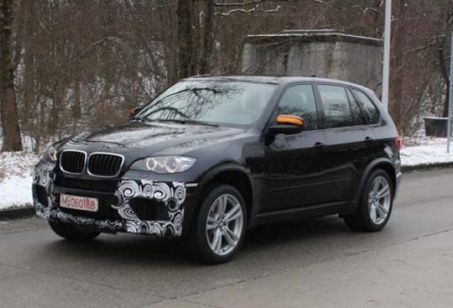 BMW X5 M spionat din nou!
