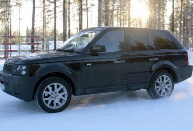 Imagini spion cu Range Rover Sport!