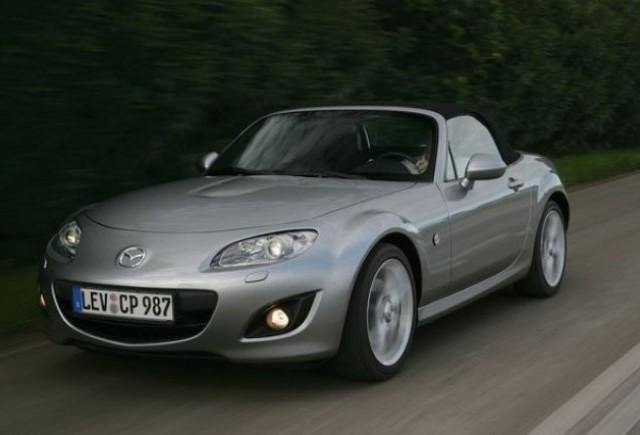 Mazda a lansat in Romania noua varianta a modelului roadster MX-5