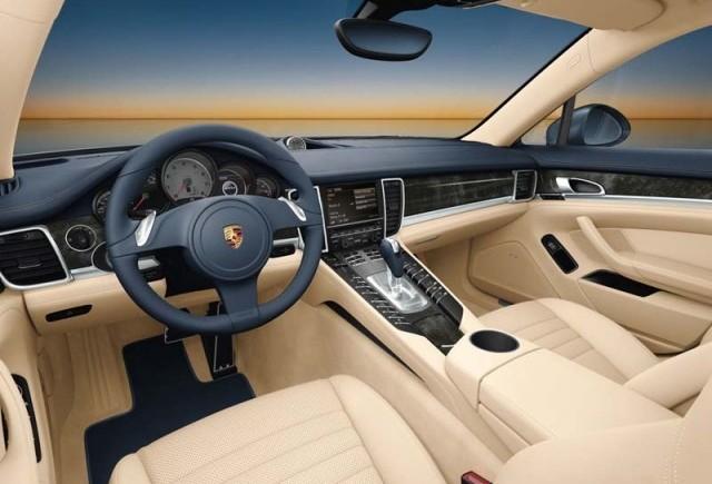 Interiorul Porsche Panamera prezentat public!