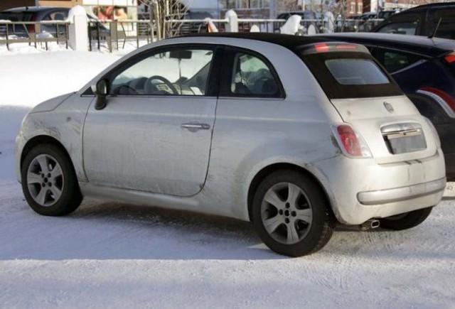 Fiat 500C trece prin nameti!