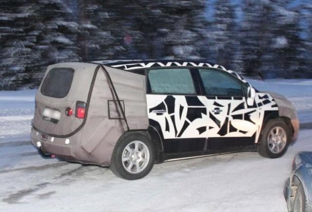 Imagini spion cu Chevrolet Tacuma!