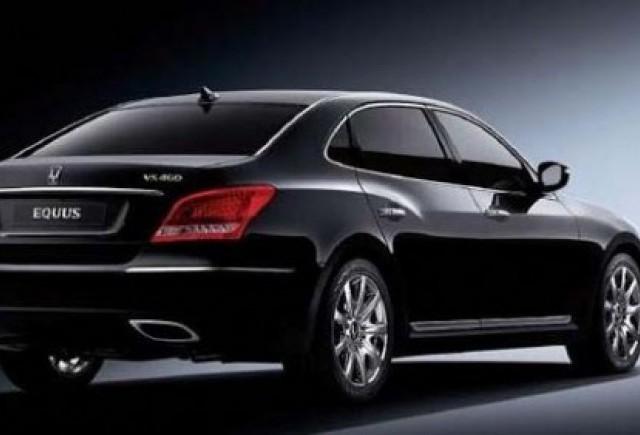Hyundai Equus - Primele imagini oficiale!