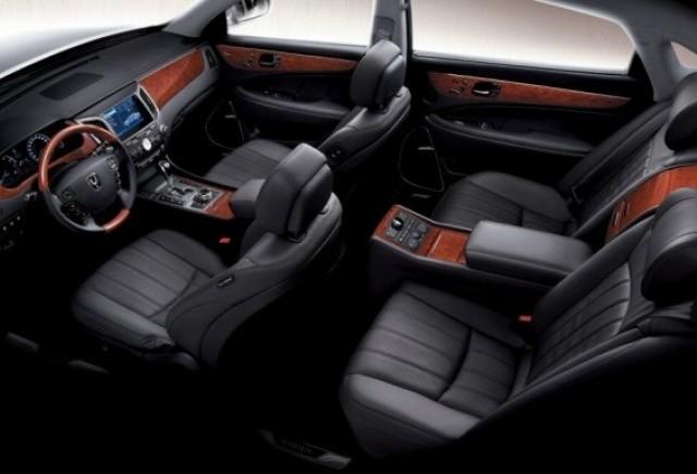Hyundai Equus - Imagini din interior!
