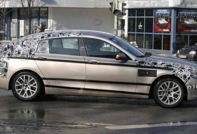 BMW Seria 5 GT - noi imagini spion!