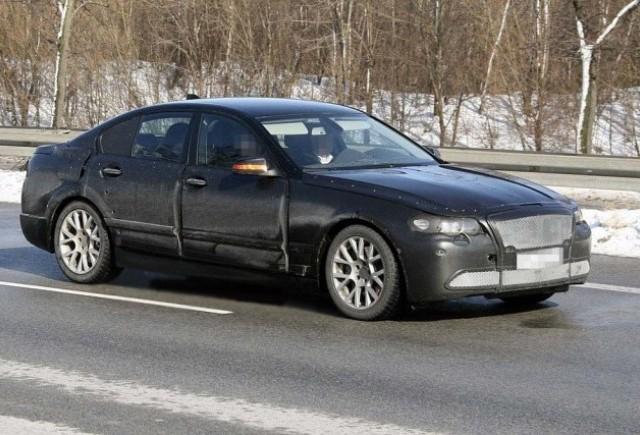 Noi imagini spion cu BMW Seria 5!