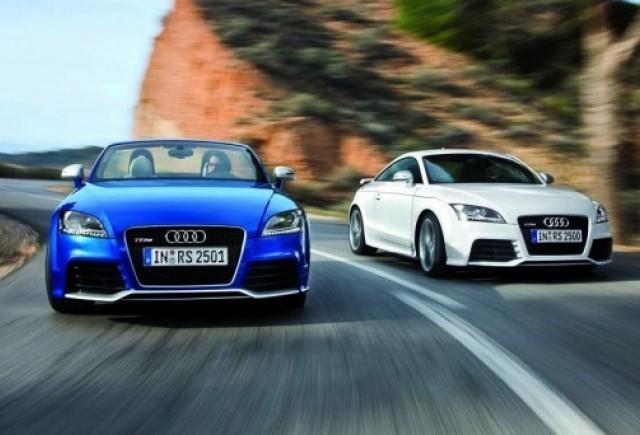 Imagini oficiale noi cu Audi TT RS!