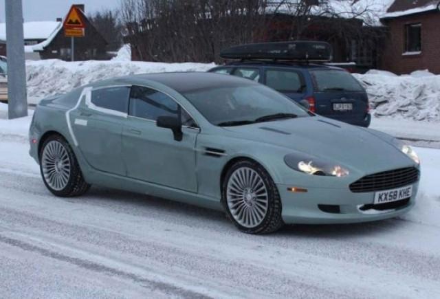 Aston Martin Rapide la Cercul Arctic!