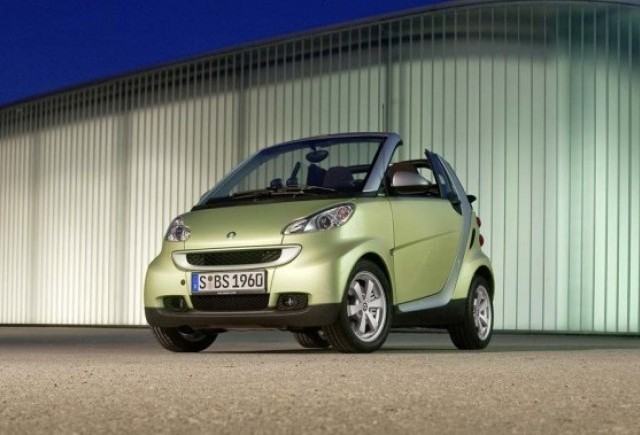 O jucarie destinata femeilor - Smart ForTwo edition limited three