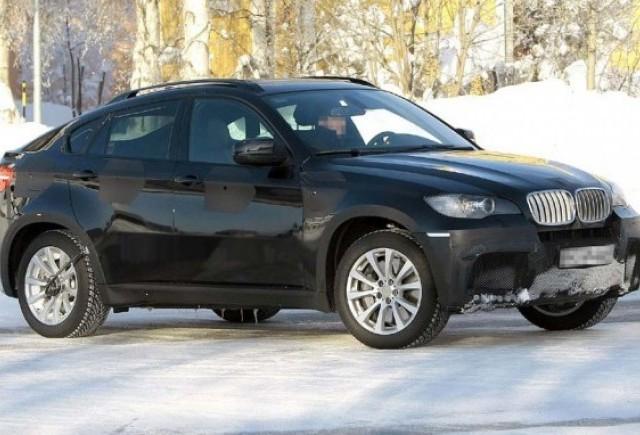 BMW X6 M la teste in zapada!