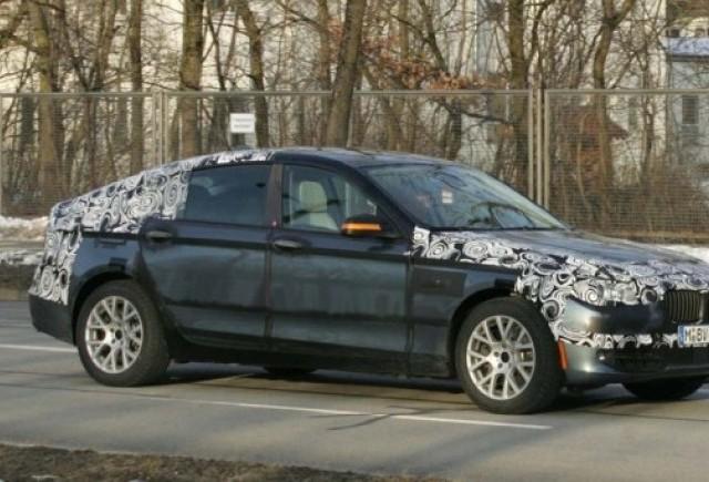 BMW Seria 5 GT a fost vazut din nou la Munchen!
