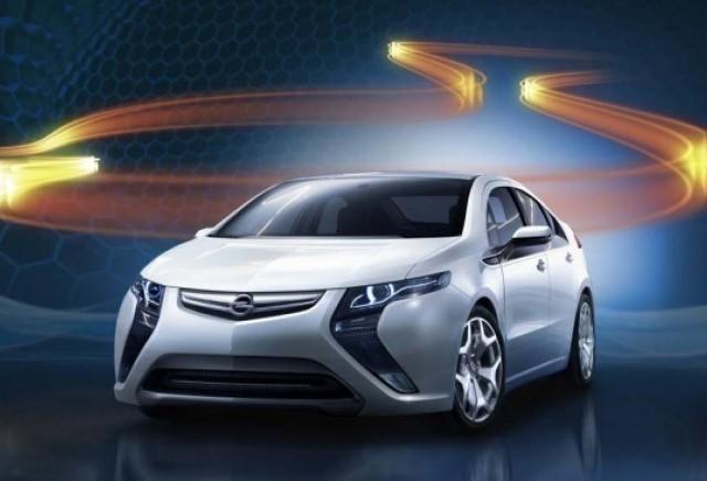 Opel Ampera e gata de salon!