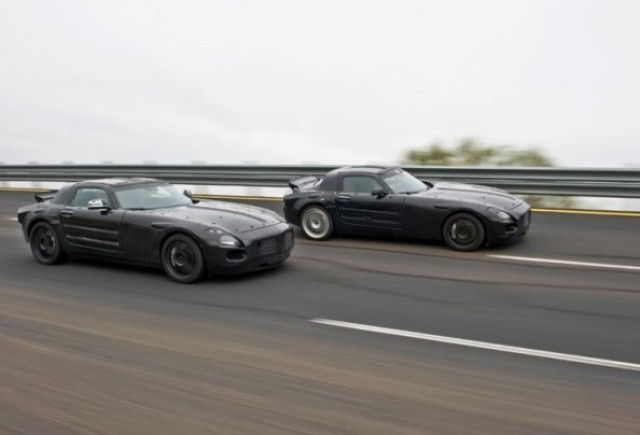 Un nou Mercedes: SLS AMG
