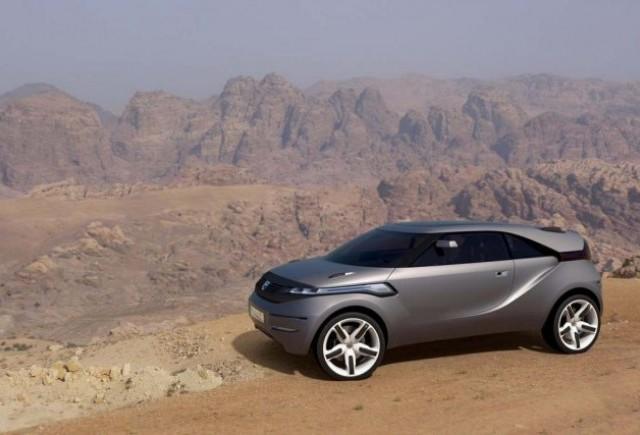 Iti lasa praf in ochi - Dacia Duster concept!