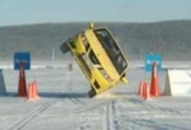 Distractie in zapada cu cei de la Saab!