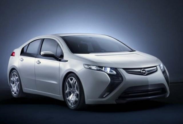 Prima premiera mondiala la Geneva - Opel Ampera prezentat oficial!