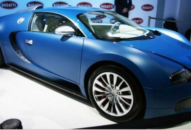 Bugatti Veyron Bleu Centenaire: 1400 CP, 440 km/h