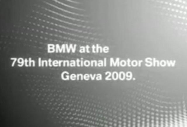 VIDEO: Teaser BMW pentru Geneva