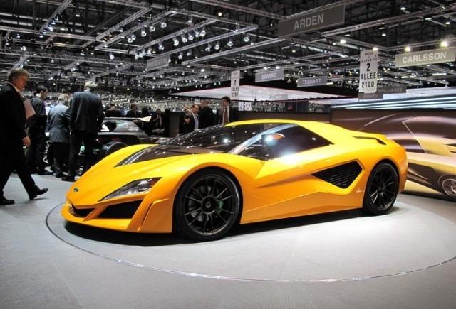 Cele mai tari masini expuse la Geneva!