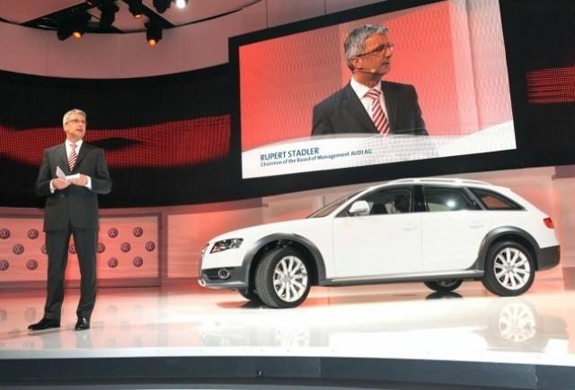 Audi lanseaza modelul A4 Allroad la Geneva!