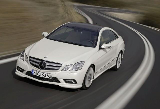 Geneva 2009 LIVE: Noul Mercedes E-Klasse Coupe