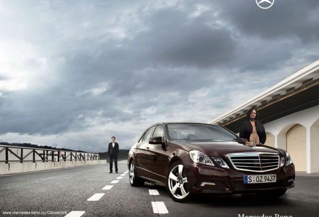 Mercedes-Benz Clasa E - primul test drive al simturilor