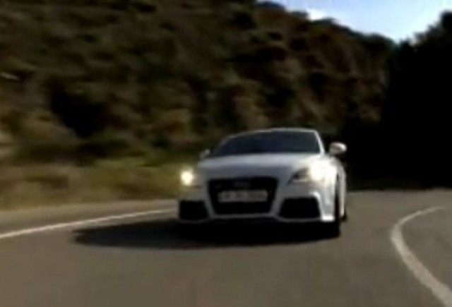 VIDEO: Audi TT RS in actiune