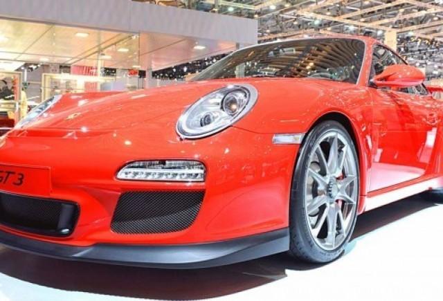 Imagini de la Geneva cu noul Porsche 911 GT3!
