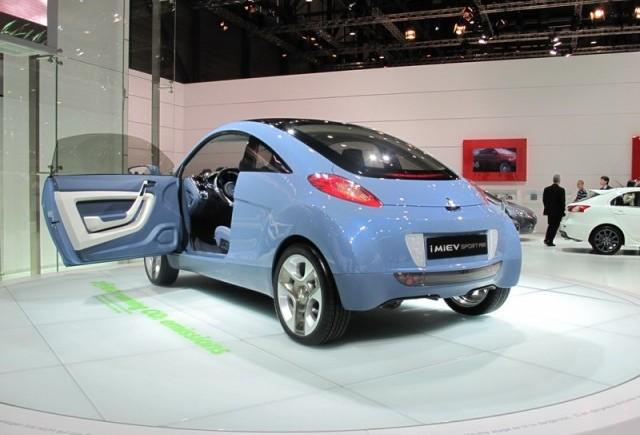 Geneva 2009: Mitsubishi i MiEV Sport Air