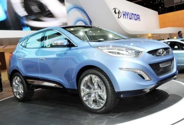 Hyundai ix-onic crossover concept a ajuns la Geneva!