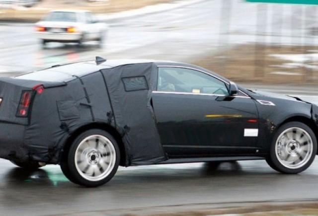 Imagini spion cu Cadillac CTS-V Coupe!