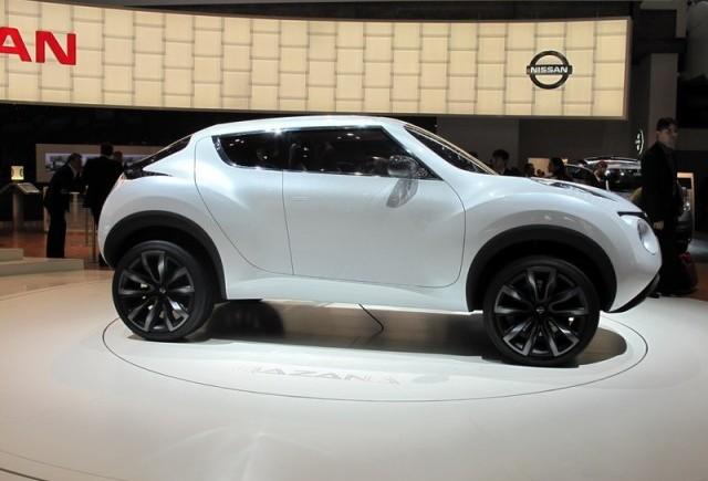 Geneva 2009: Nissan Qazana Concept