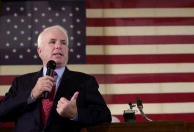 John McCain cere falimentul GM si Chrysler