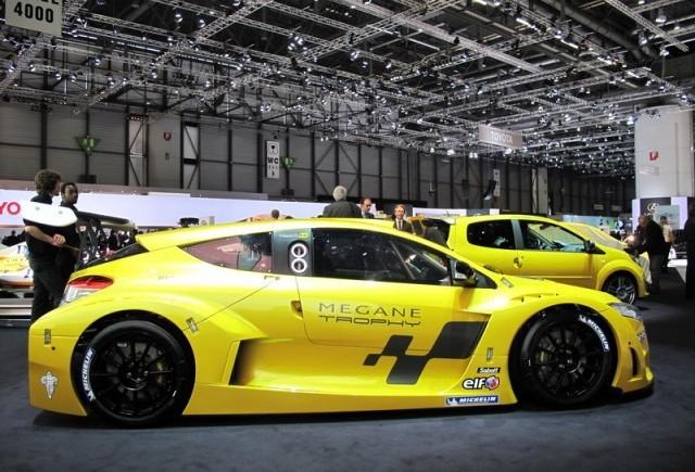 Geneva 2009: Renault Megane Trophy RS