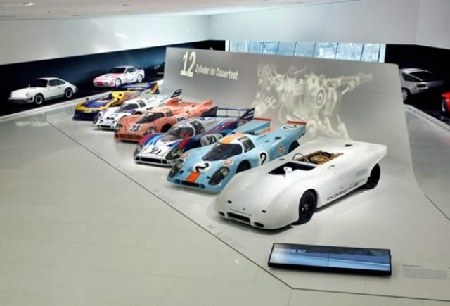 Porsche celebreaza 40 de ani de la nasterea lui 917