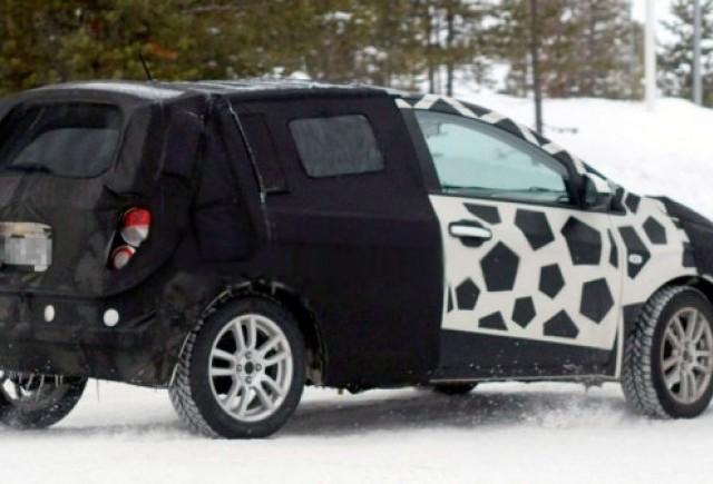 Chevrolet Aveo vazut la Cercul Arctic!
