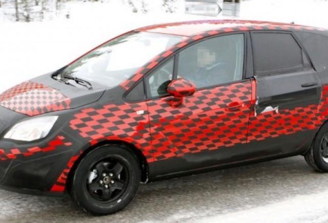 Opel Meriva zarit in inzapezita Suedie!