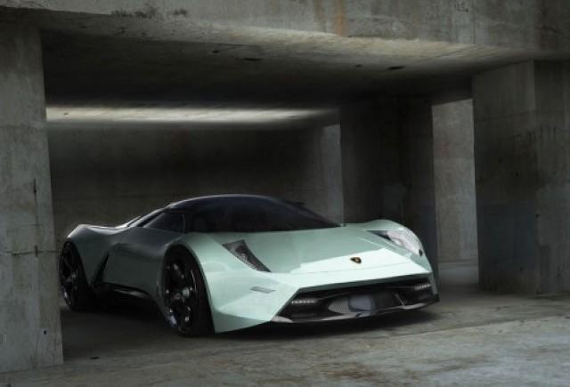 EXCLUSIV: Un roman a desenat Lamborghini-ul viitorului